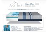 Blue Max 1000 Cushion Firm Queen Mattress - Detail