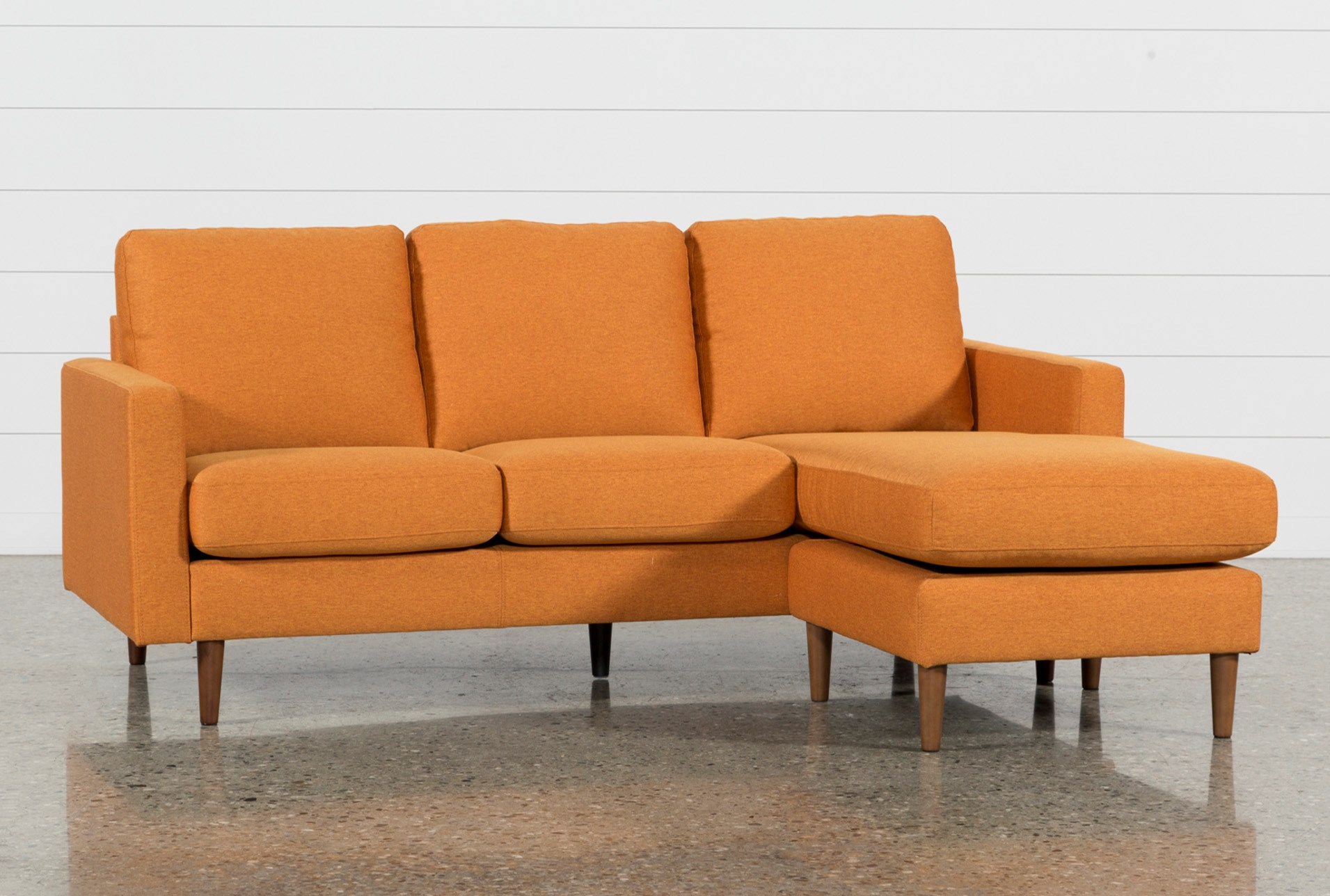 large view - Chaise Orange