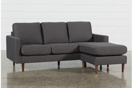 Display Product Reviews For David Dark Grey Reversible Sofa Chaise