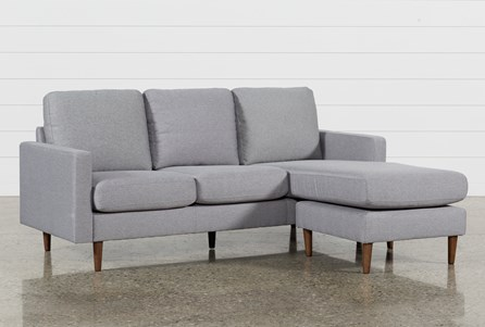 David Grey Reversible Sofa Chaise