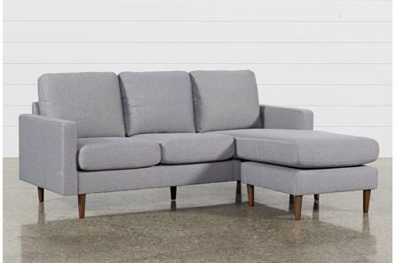 David Grey Reversible Sofa Chaise