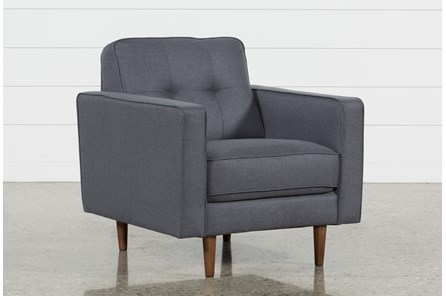 London Dark Grey Chair - Main