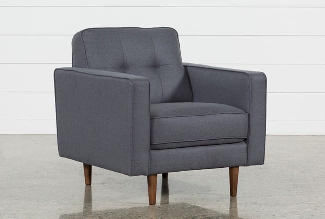 London Dark Grey Chair - 360