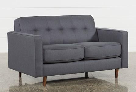 London Dark Grey Full Sleeper Sofa