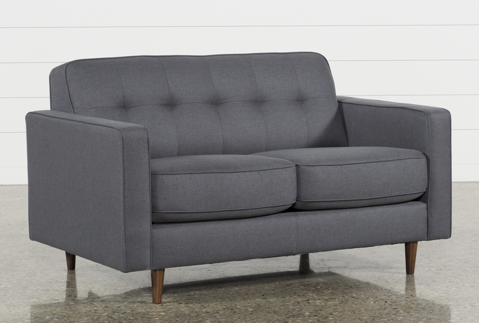 Superieur London Dark Grey Full Sleeper Sofa   360