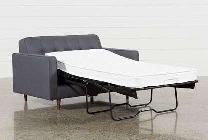 Swell London Dark Grey Twin Plus Sleeper Sofa Cjindustries Chair Design For Home Cjindustriesco