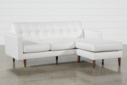 White Sectionals Sectional Sofas Living Spaces