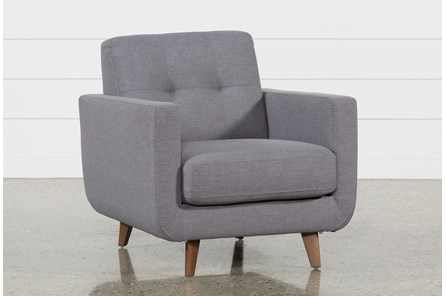 Allie Dark Grey Chair - Main
