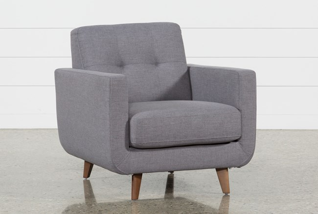 Allie Dark Grey Chair - 360