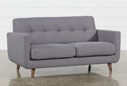 Allie Dark Grey Twin Plus Sleeper Sofa