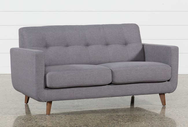 Allie Dark Grey Twin Plus Sleeper Sofa - 360