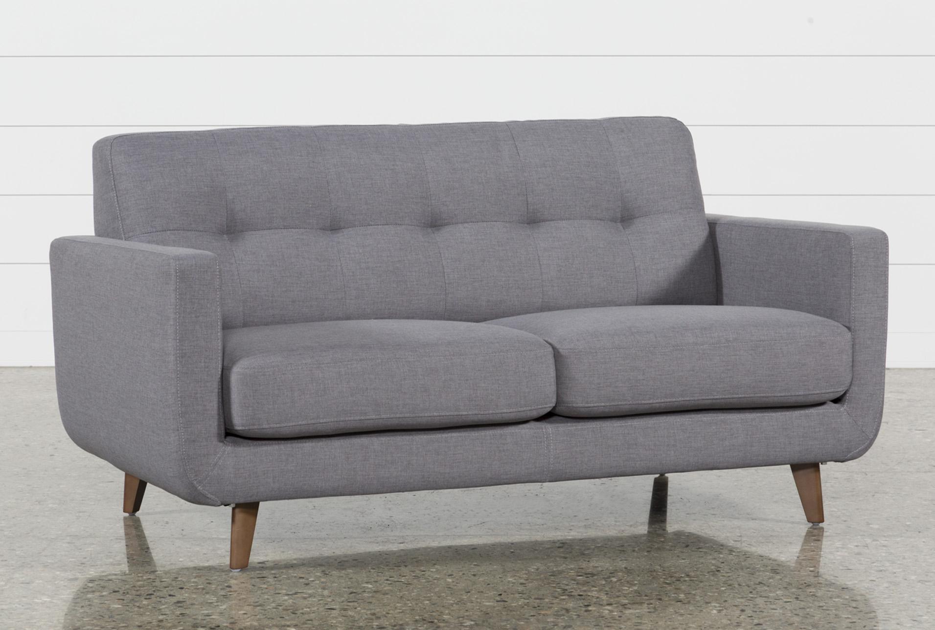 Allie Dark Grey Twin Plus Sleeper Sofa   360