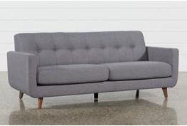 "Allie Dark Grey 82"" Sofa"