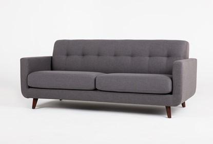 Magnificent Allie Dark Grey Sofa Machost Co Dining Chair Design Ideas Machostcouk