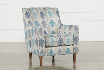Sven Denim Accent Chair
