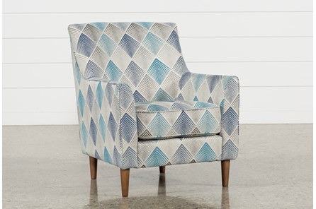 Sven Denim Accent Chair - Main