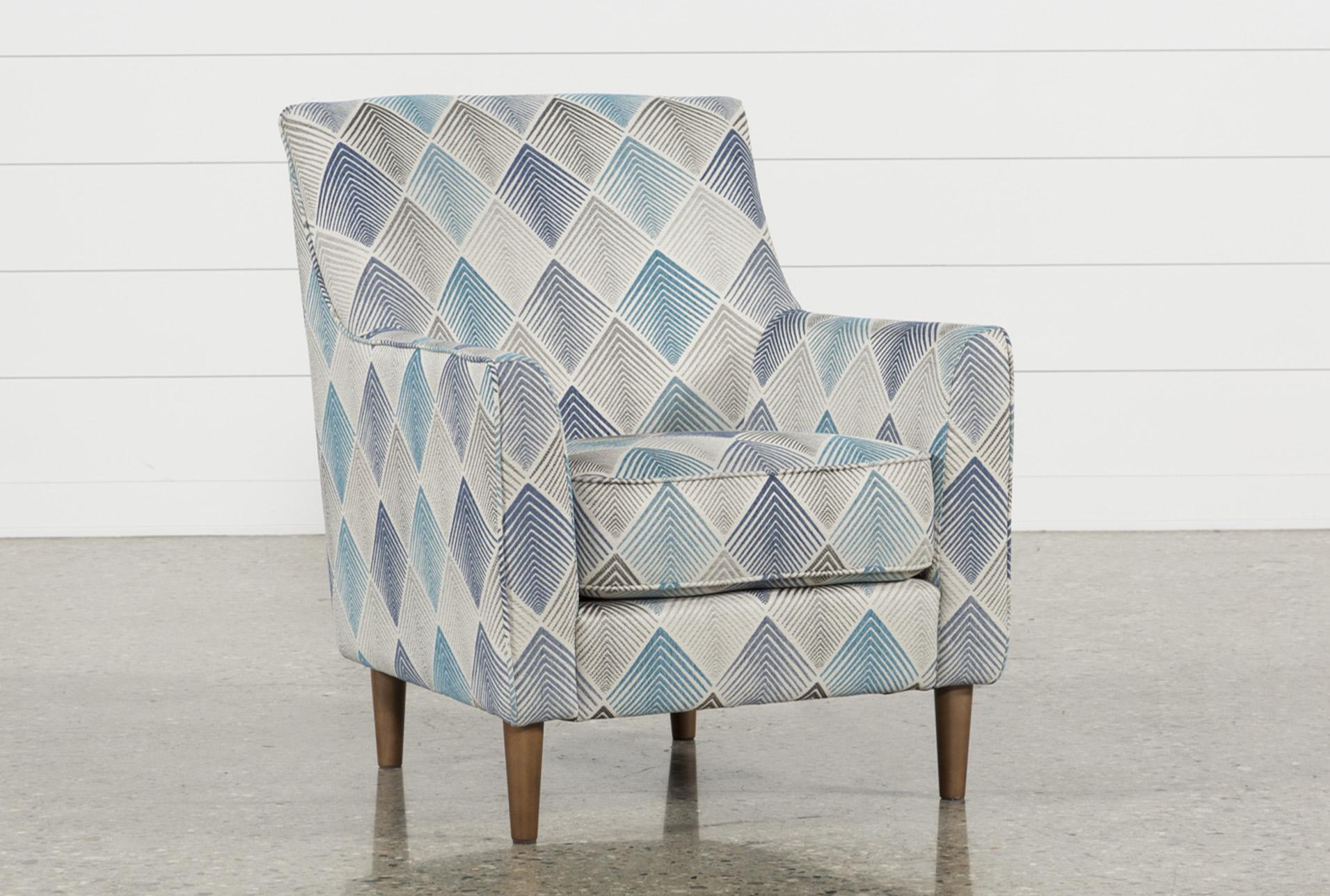Sven Denim Accent Chair