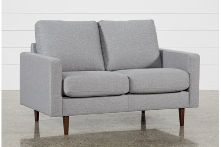David Grey Loveseat - Main