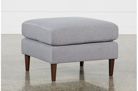 David Grey Ottoman - Main