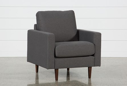David Dark Grey Chair