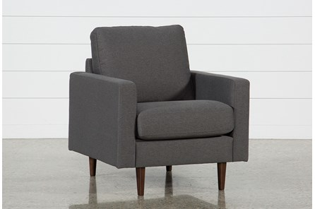 David Dark Grey Chair - Main
