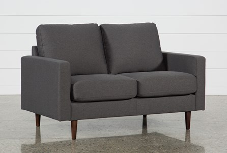 David Dark Grey Loveseat
