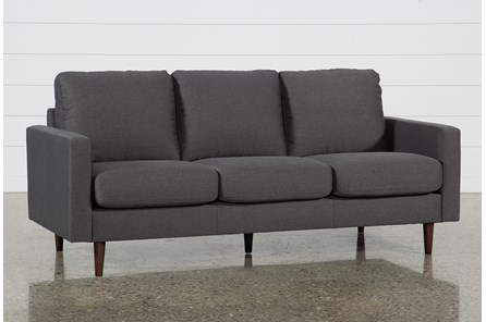 David Dark Grey Sofa - Main
