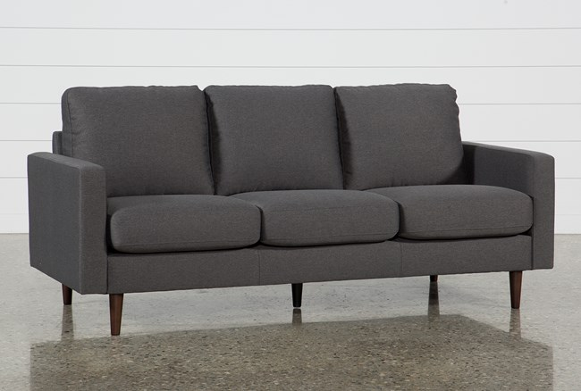 David Dark Grey Sofa - 360