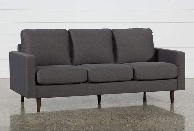David Dark Grey Sofa 360