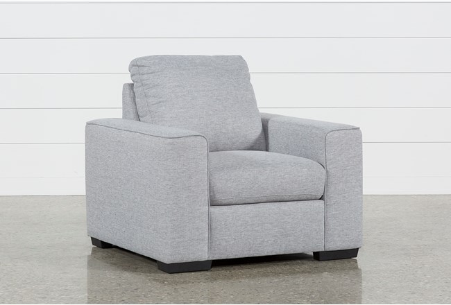 Lucy Grey Chair - 360
