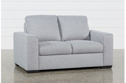 "Lucy Grey 61"" Loveseat"