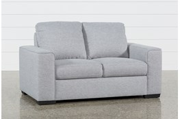 Lucy Grey Loveseat