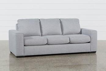 "Lucy Grey 84"" Sofa"