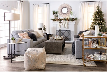 Lucy Grey Sofa