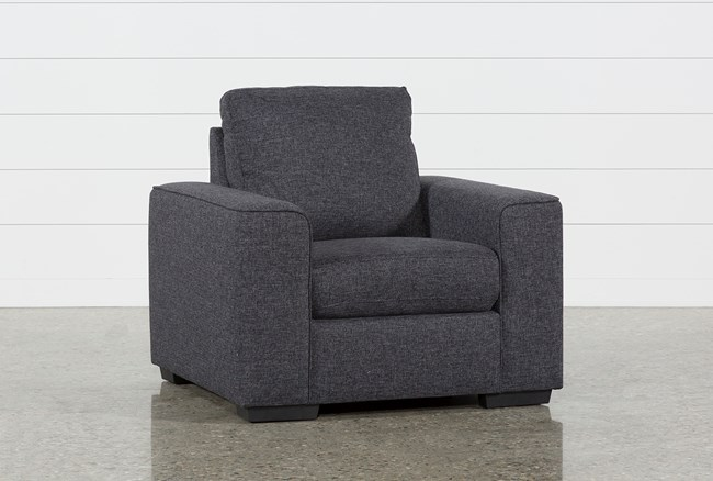 Lucy Dark Grey Chair - 360