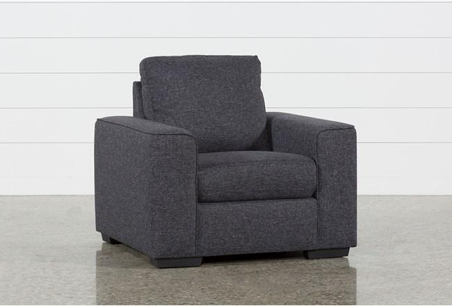 Lucy Dark Grey Chair - 360