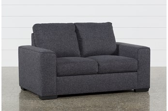 Lucy Dark Grey Loveseat