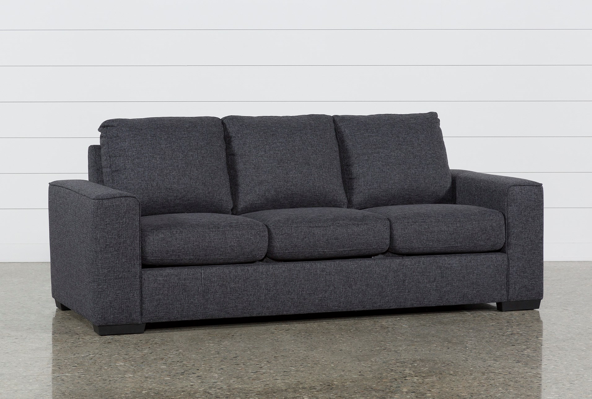 Lucy Dark Grey Sofa Living Spaces