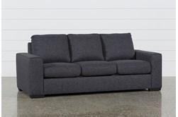 "Lucy Dark Grey 84"" Sofa"