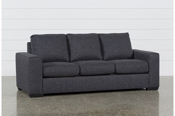 "Lucy Dark Grey 84"" Sofa"