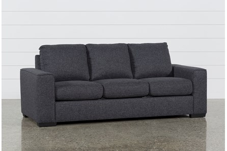 Lucy Dark Grey Sofa - Main