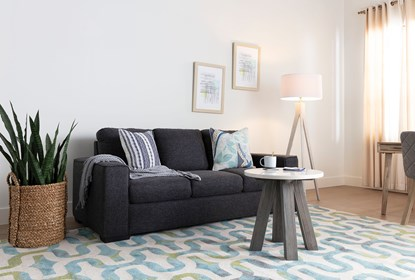 Lucy Dark Grey Sofa