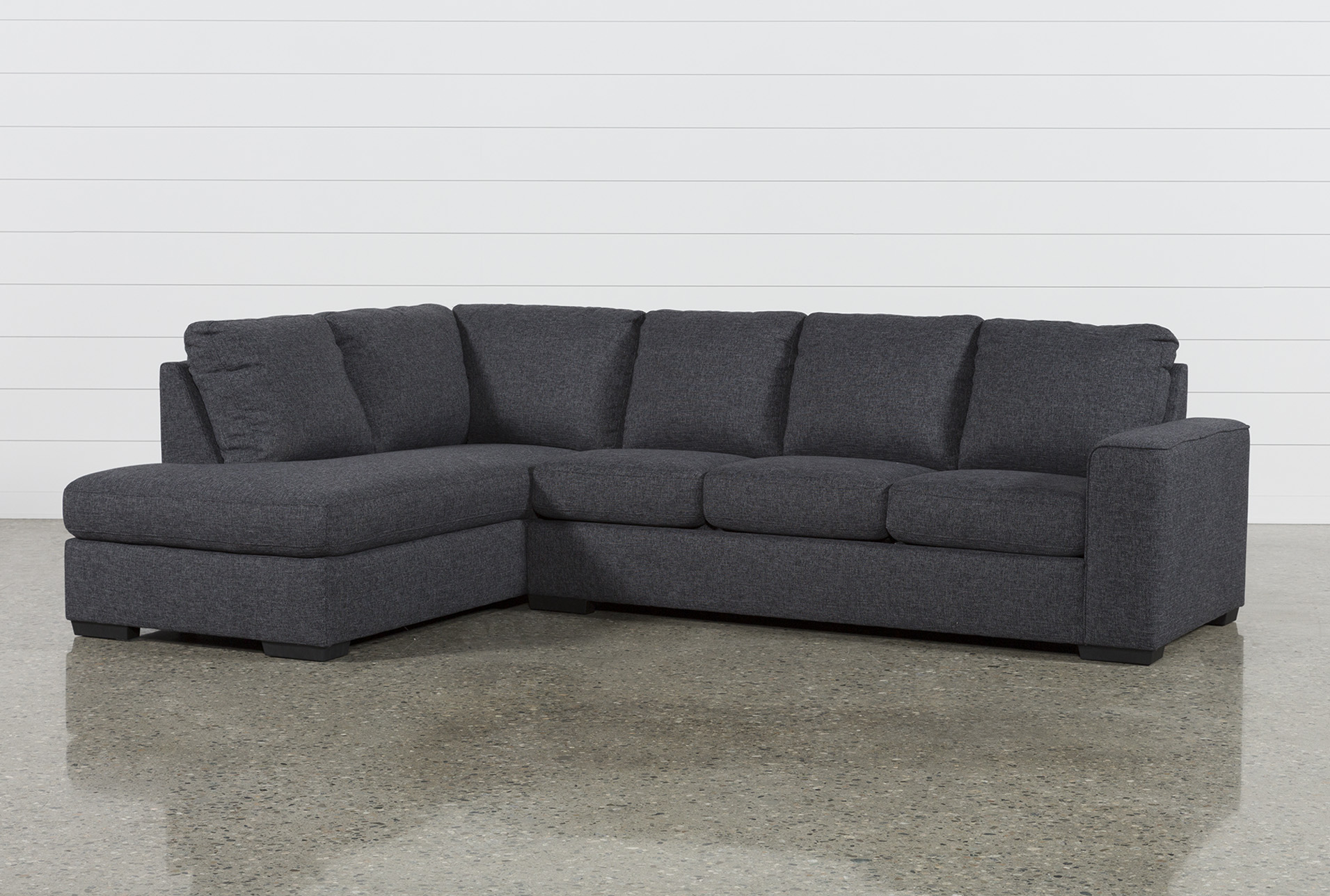 grey sectional sleeper sofas living spaces rh livingspaces com grey leather sectional sleeper sofa