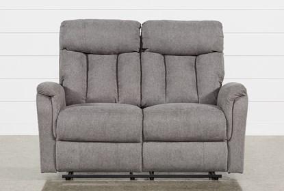 Incredible Suzy Dark Grey Reclining Loveseat Machost Co Dining Chair Design Ideas Machostcouk