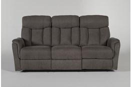 Suzy Dark Grey Reclining Sofa