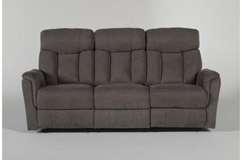 Suzy Dark Grey Reclining Sofa