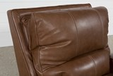 Clyde Saddle Leather Power Recliner W/Power Headrest And Usb - Top