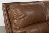 Clyde Saddle Leather Power Reclining Loveseat W/Power Headrest & Usb - Top
