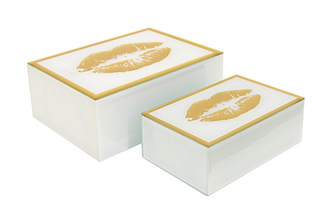 Youth-Kiss Mirrored Box Set Of 2 - 360