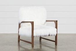 Garbo Fur Accent Chair